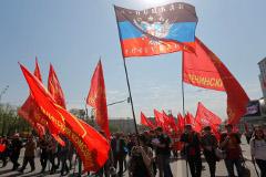 Митингующие захватили областную прокуратуру в Донецке