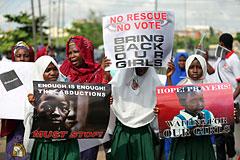 Исламисты взяли на себя ответственность за похищение сотен школьниц в Нигерии