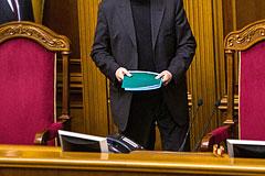 Рада отклонила идею проведения референдума в день президентских выборов