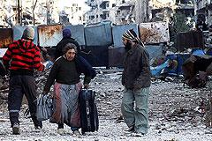Сирийские повстанцы начали покидать Хомс