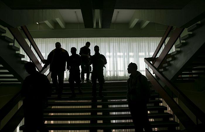 В Мариуполе освобождено здание горсовета.