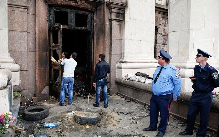 На Украине задержали предполагаемых организаторов беспорядков в Одессе