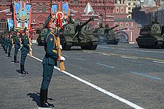 В Москве состоялся военный парад