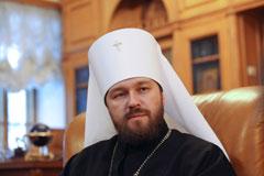 Москва потребовала от Киева объяснить запрет на въезд митрополиту Илариону