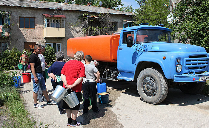 Власти Крыма договорились о возобновлении поставок украинской воды