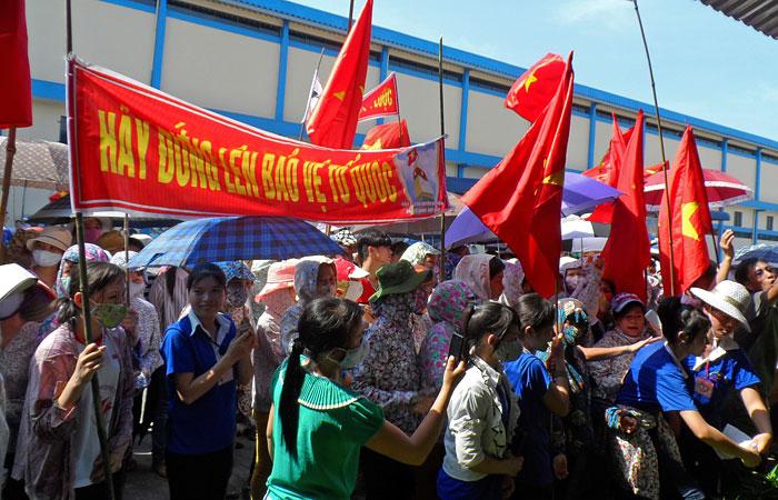 Более 20 человек погибли во Вьетнаме во время антикитайских протестов