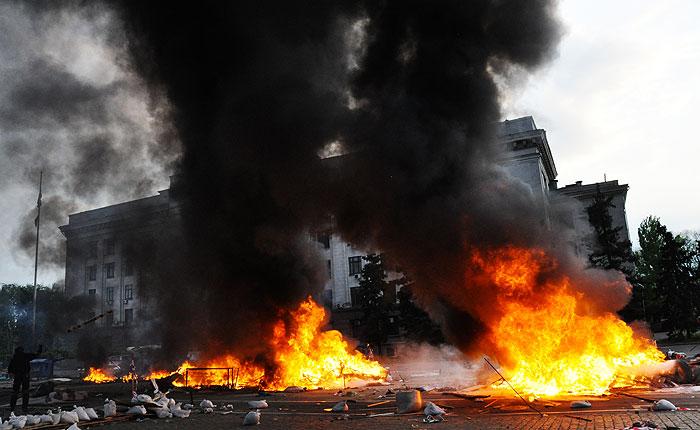 Одесская милиция обнародовала причины гибели людей 2 мая