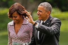Состояние Обамы и его жены составило до $7,15 млн