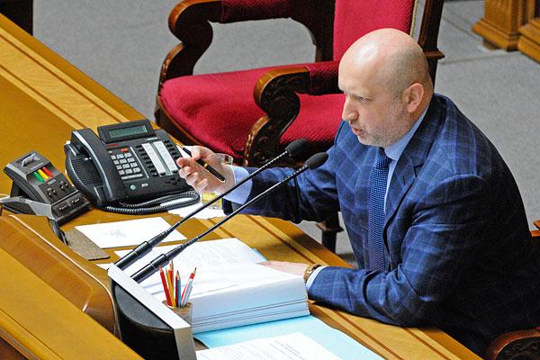 Турчинов попросил Минюст запретить компартию Украины