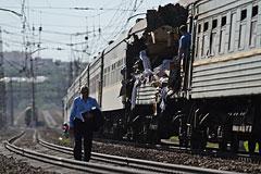 Поезда в Подмосковье столкнулись из-за ремонтных работ