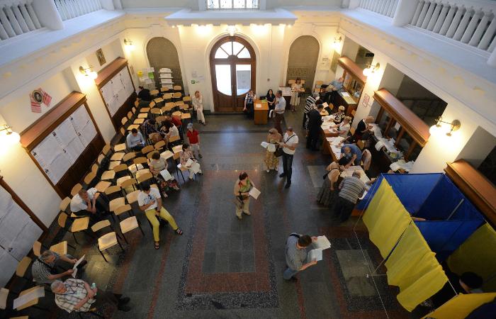 Украинский ЦИК признал президентские выборы состоявшимися