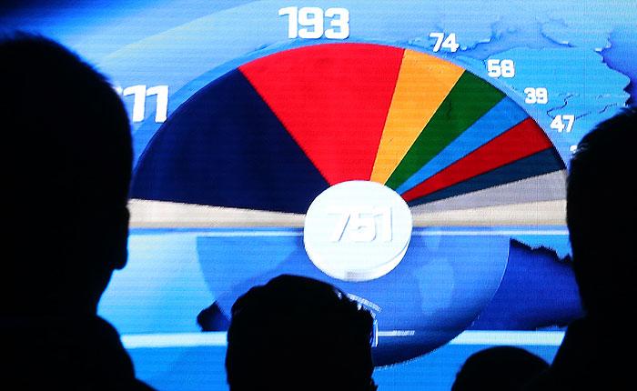 Крайне правые и евпроскептики добились успеха на выборах в Европарламент