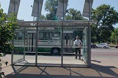 Московские остановки начали оборудовать бесплатным Wi-Fi