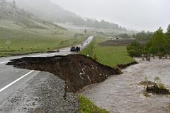 """На Алтае из-за паводка перекрыто более 200 километров федеральной трассы """"Чуйский тракт"""""""