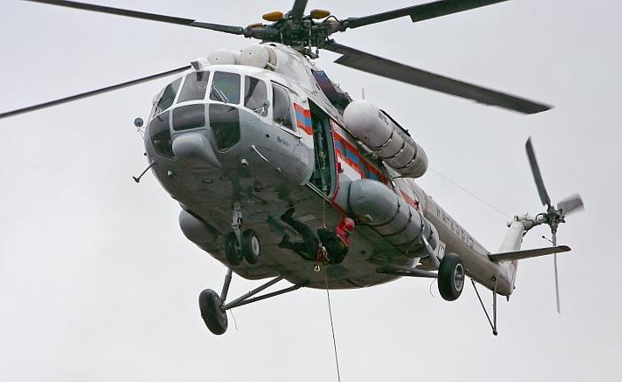 В Мурманской области разбился вертолет с заместителем губернатора