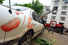 Луганское ополчение заявило об обстреле центра города