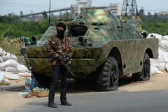 Турчинов поручил изучить вопрос о введении военного положения в Донбассе