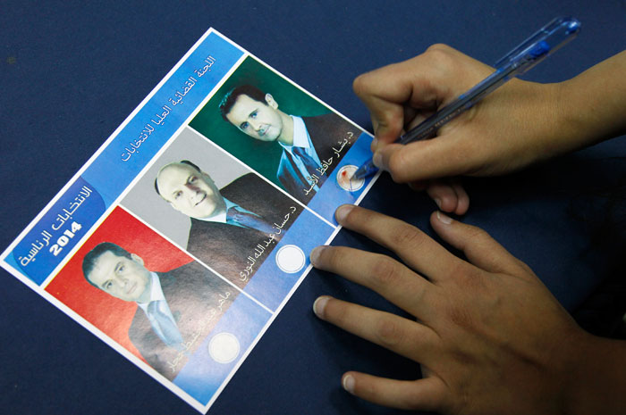 Асад переизбран президентом Сирии