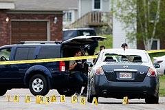В Канаде задержан подозреваемый в убийстве троих полицейских