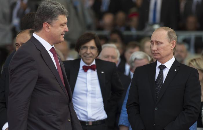 Путин и Порошенко рассказали об итогах первого разговора