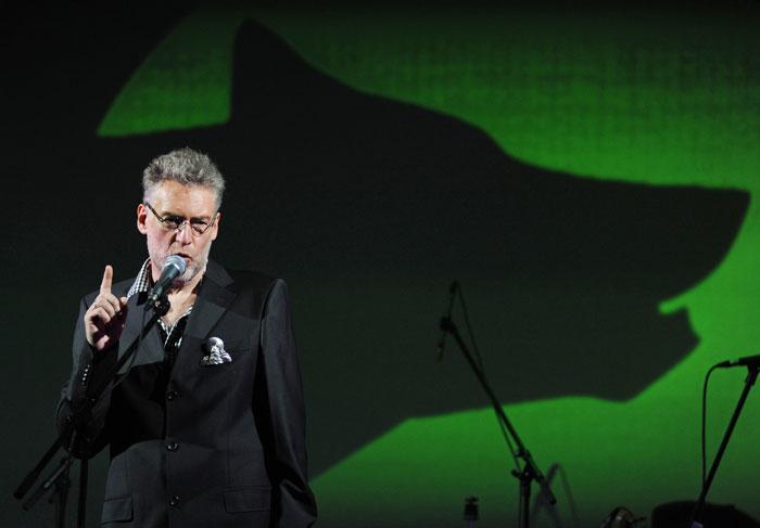Музыкальный критик Артемий Троицкий на церемонии вручения IV независимой музыкальной премии