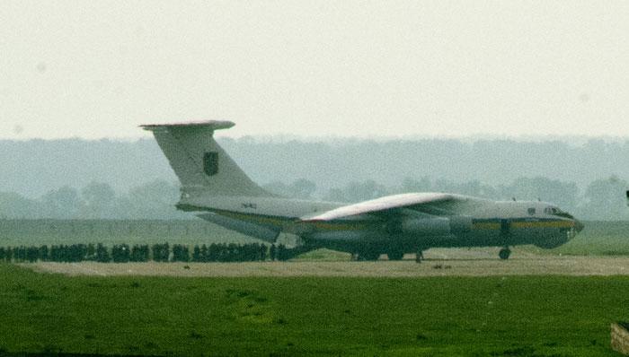 Луганские ополченцы сбили Ил-76 с украинскими военными