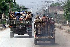 Пакистанская армия начала наступление на позиции талибов