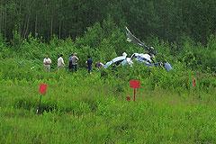Вертолет Ми-8 потерпел крушение на севере Хабаровского края