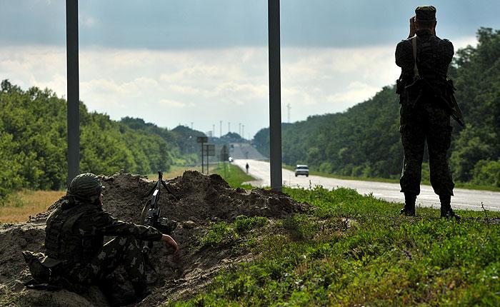 Россия предлагает разместить наблюдателей ОБСЕ на российских КПП на границе с Украиной
