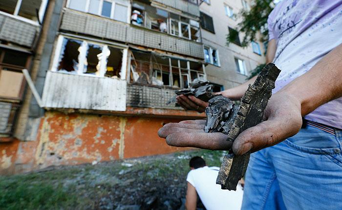 Украинская армия возобновила боевые действия в Донецкой и Луганской областях