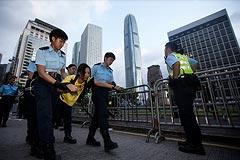 Полиция Гонконга задержала более 500 участников акции протеста