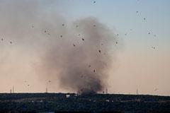 Украинские снаряды вновь попали в российский пограничный пункт