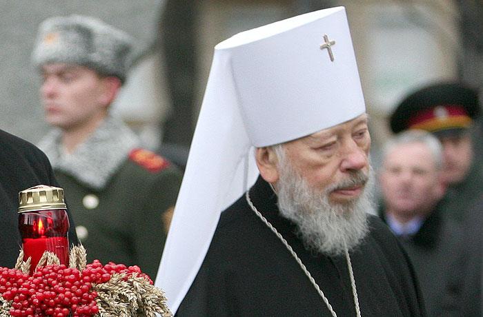 Скончался митрополит Киевский и всея Украины Владимир