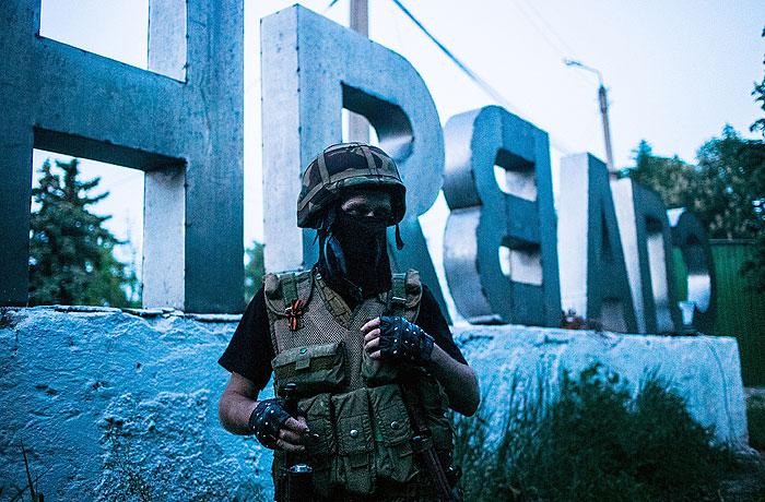 Глава МВД Украины заявил о бегстве ополченцев из Славянска