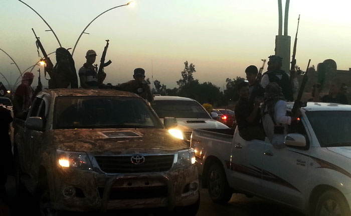 Иракские боевики захватили склад урана