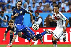 Финал чемпионата мира. Германия - Аргентина: онлайн