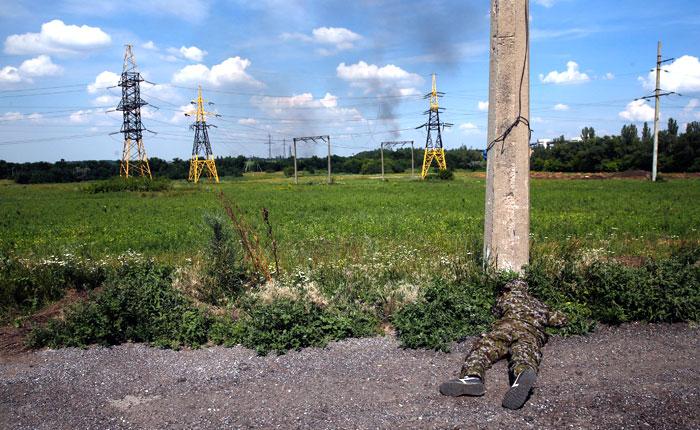 В Луганской области сбили транспортный самолет