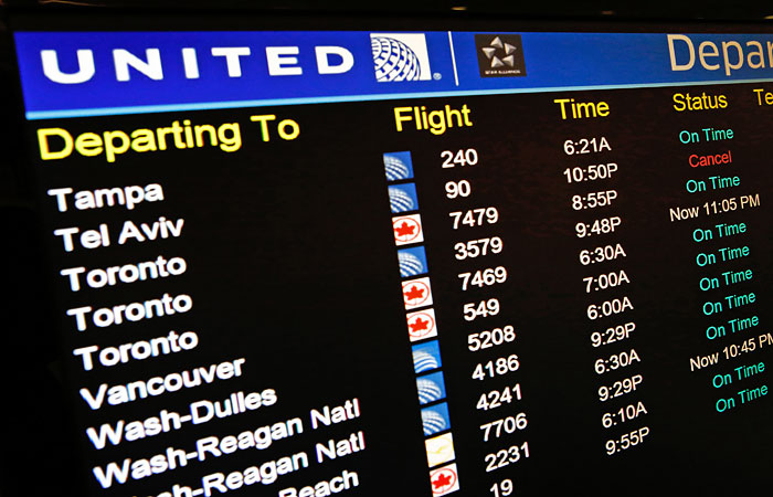 США сняли запрет на полеты в Тель-Авив