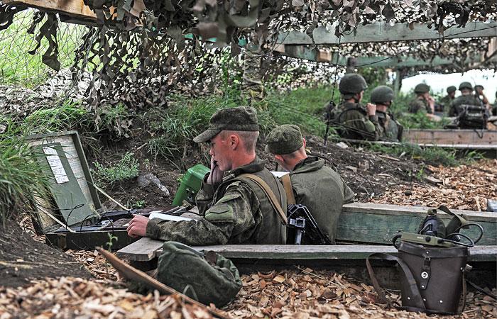 Минобороны проведет учения резервистов по всей России