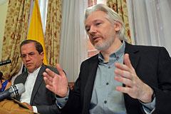 Ассанж подтвердил намерение покинуть посольство Эквадора в Лондоне