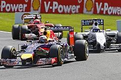 Гонщик Red Bull Риккьярдо выиграл Гран-при Бельгии