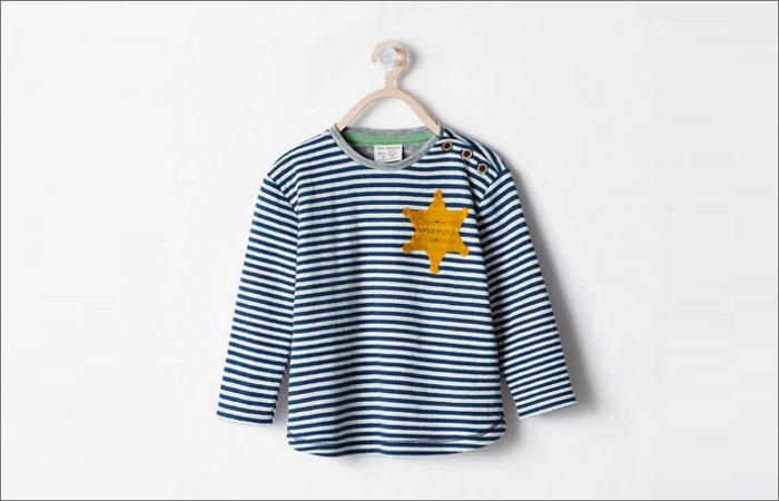 Zara изъяла из продажи пижаму из-за сходства с робой узника концлагеря