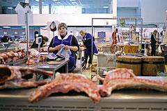 В регионах ускорился рост цен на мясо и рыбу