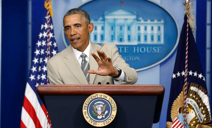 Обама исключил участие США в боевых действиях на Украине