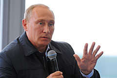 Путин предложил перенести часть федеральных органов власти в Сибирь