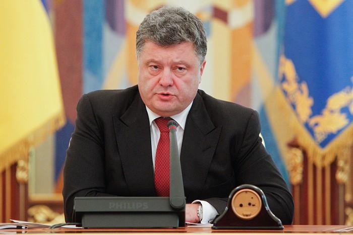 Порошенко попросил международное сообщество о военно-технической помощи