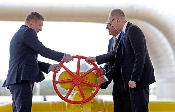 Словакия начала поставки газа на Украину