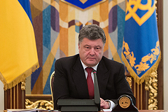 Пресс-служба Порошенко объявила о договоренности о прекращении огня в Донбассе