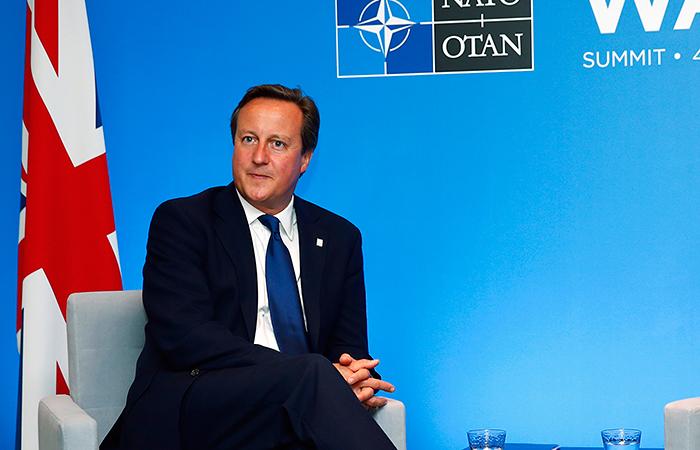 Кэмерон допустил участие британских ВВС в боевых действиях в Ираке