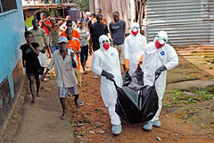 США отправят в Африку три тысячи военнослужащих на борьбу с Эболой